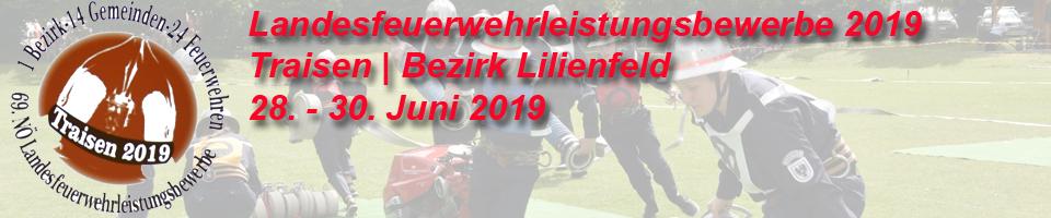 69. NÖ Landesfeuerwehrleistungsbewerb 2019 | Traisen | Bezirk Lilienfeld